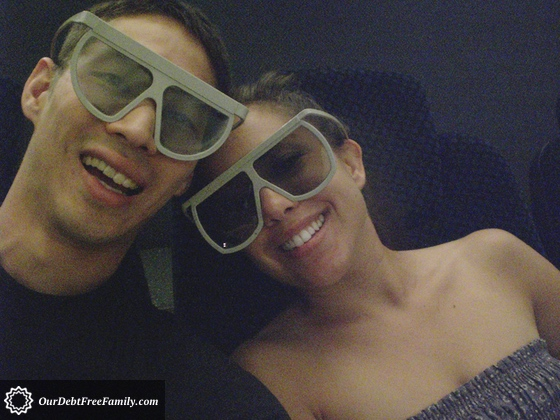 Mike and Monica in 3D Theater