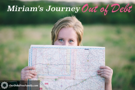 Miriam's Journey Out of Debt - Map