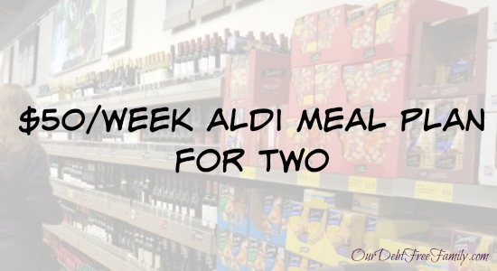 $50 Aldi Meal Plan