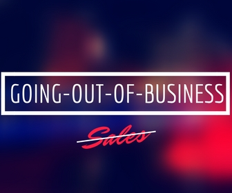Going-out-of-business sales