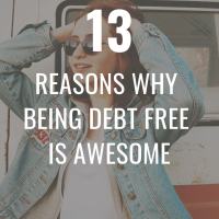 Being debt free is awesome