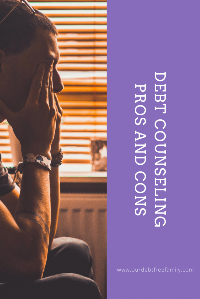 debt counseling pros and cons