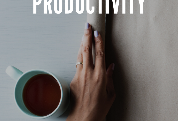 My Word For 2020: Productivity