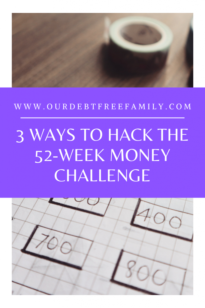 hack the 52-week money challenge