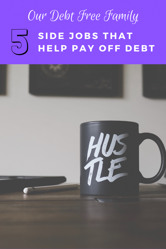 side jobs that help pay off debt