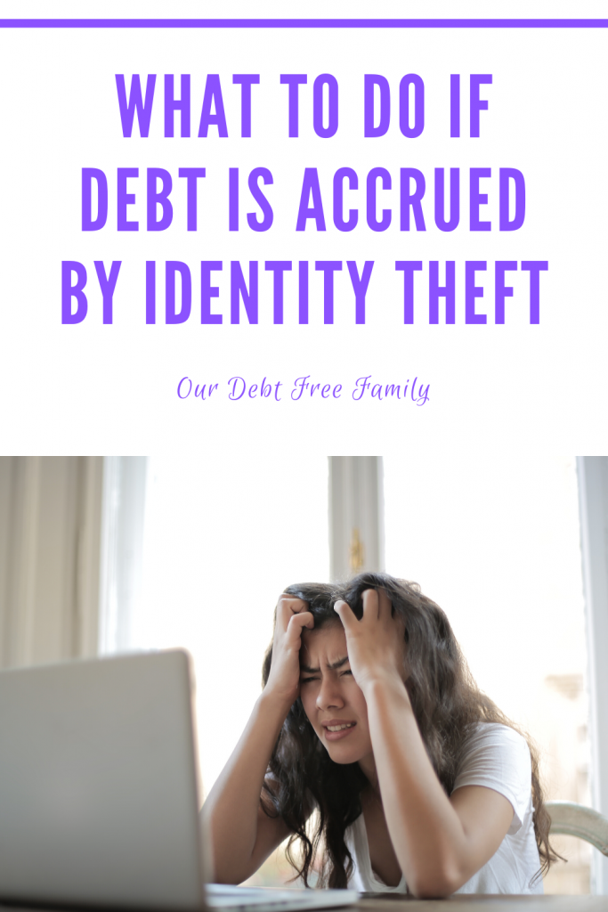 What To Do If Debt Is Accrued By Identity Theft