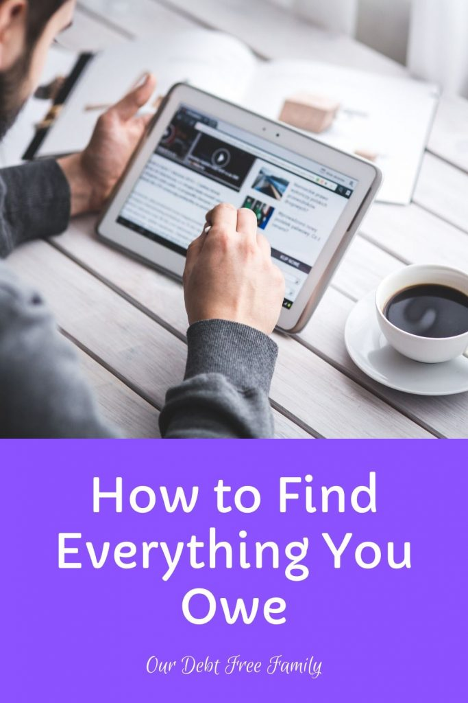How to Find Everything You Owe