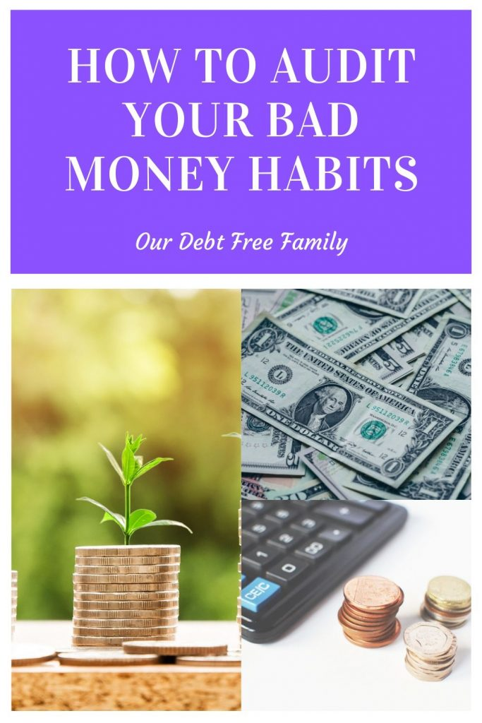 bad money habits