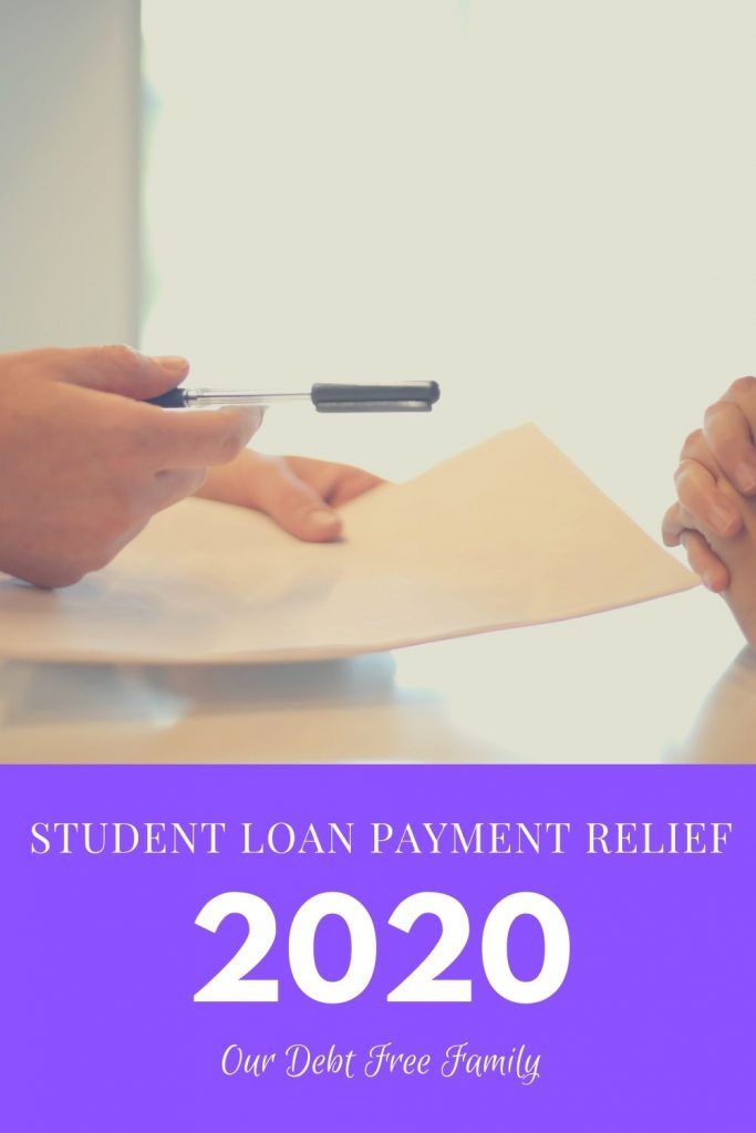 student loan payment relief