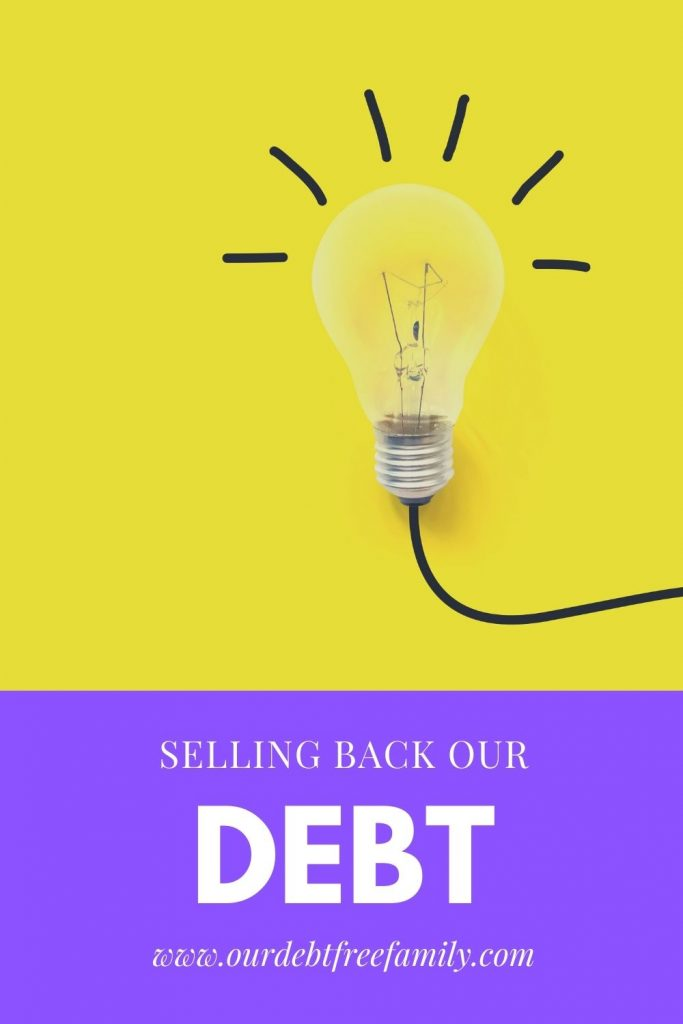 selling back debt