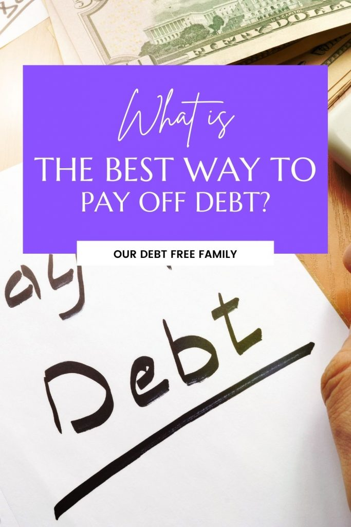 best way to pay off debt